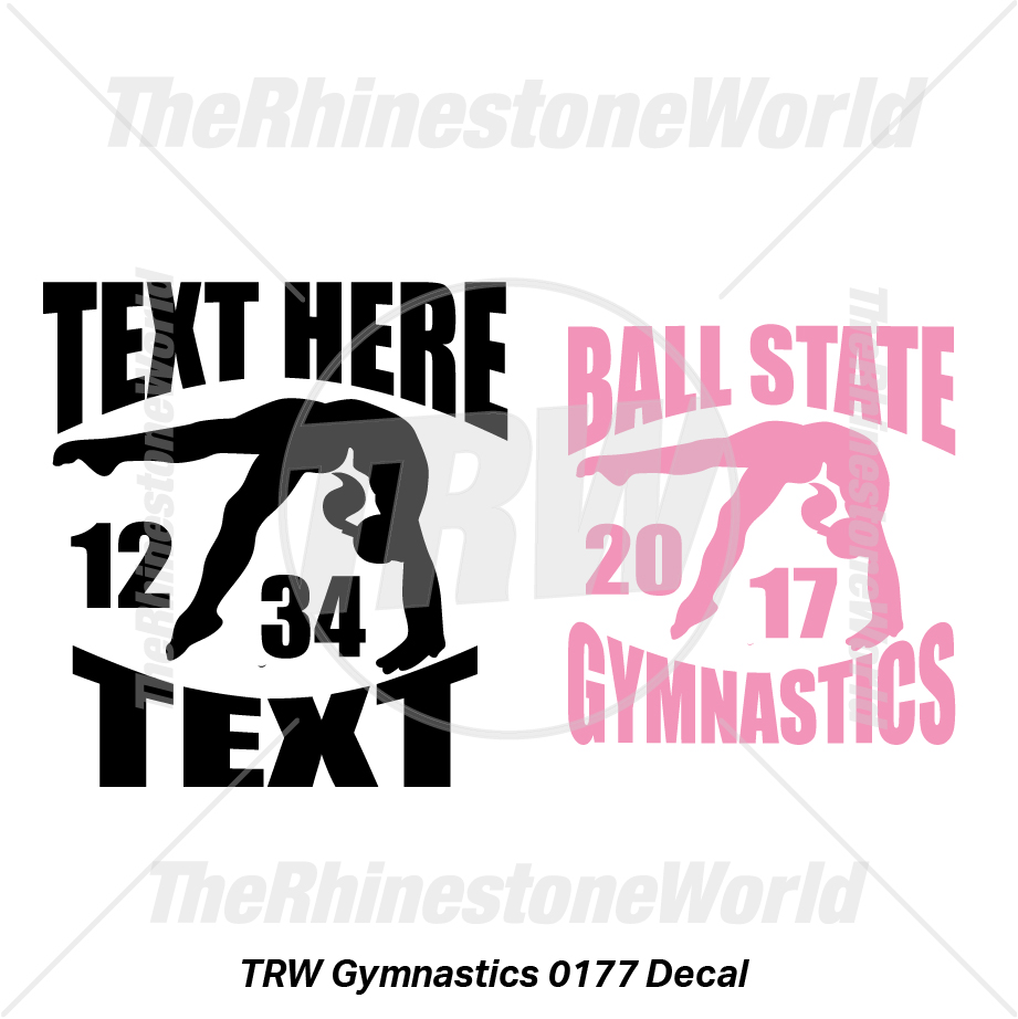 TRW Gymnastics 0177 Decal (Vol 1) - Download
