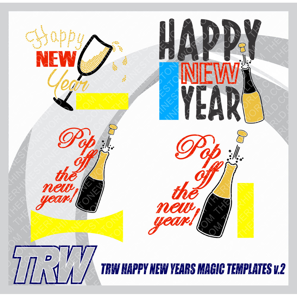 TRW Happy New Years Magic Templates Vol. 2  - Download