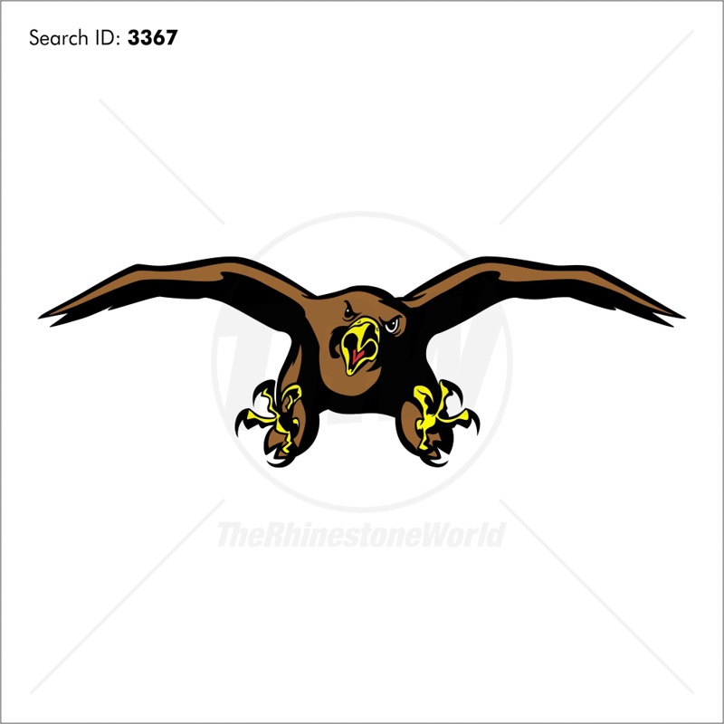 Hawks 3 Vector Mascot - Download