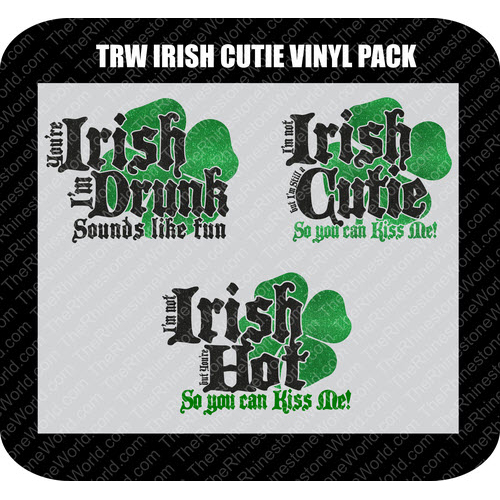 TRW IRISH CUTIE PACK Vector Design  - Download