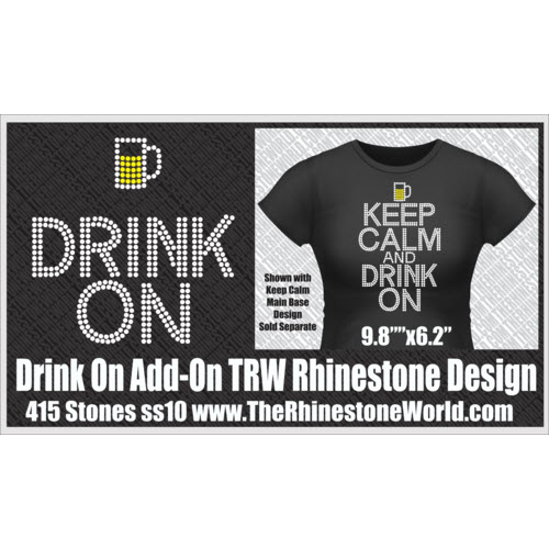 TRW KEEP CALM Drink  - Download