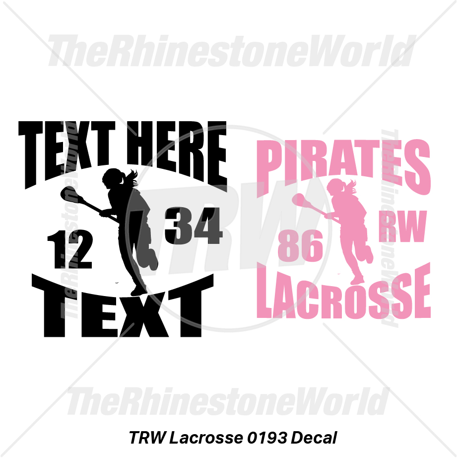 TRW Lacrosse 0193 Decal (Vol 1) - Download