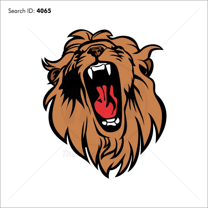 Lion 8 Vector Mascot - Download