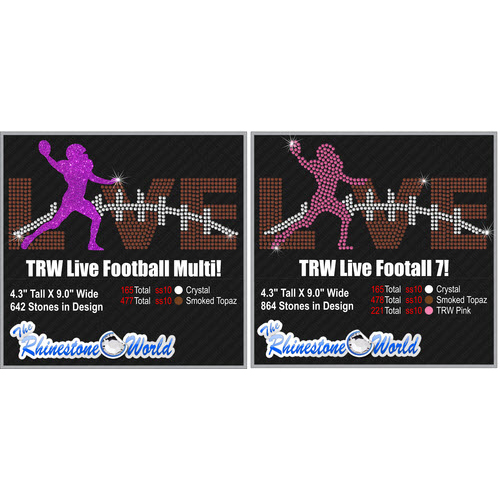 TRW Live Football Multi Pack Design  - Download