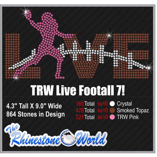 af0da5e6aa6ff TRW Live Football Rhinestone Design - Download