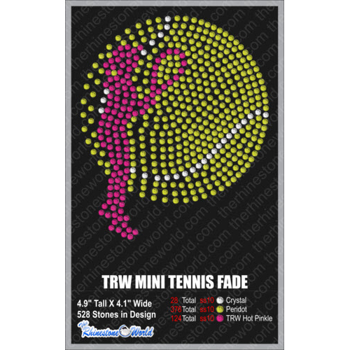 TRW MINI TENNIS FADE OUT Design W/ MOCKUP  - Download