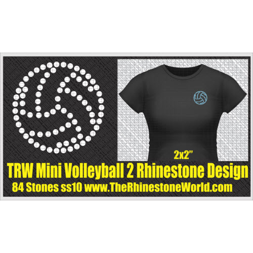 TRW Mini Volleyball 2 Design   - Download