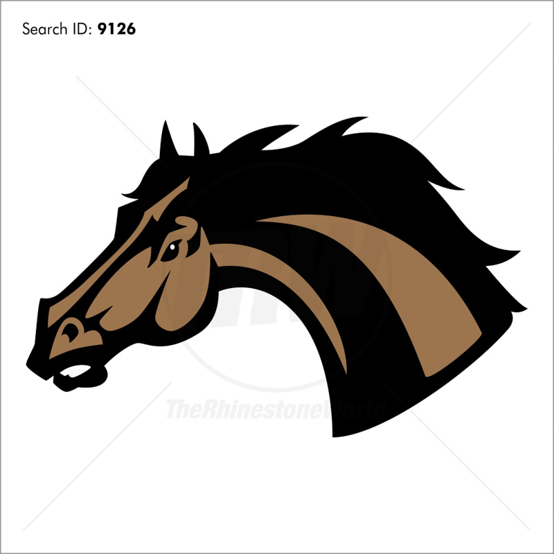 Mustang 1 Magic Cut Mascot - Download