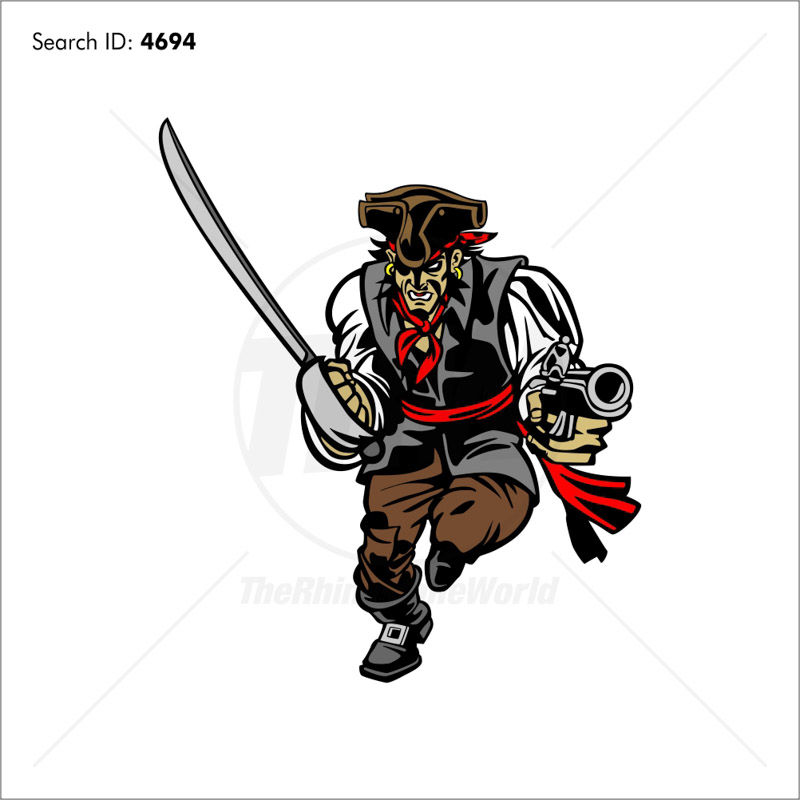Pirate 1 Vector Mascot - Download