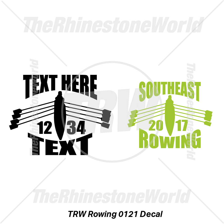 TRW Rowing 0121 Decal (Vol 1) - Download