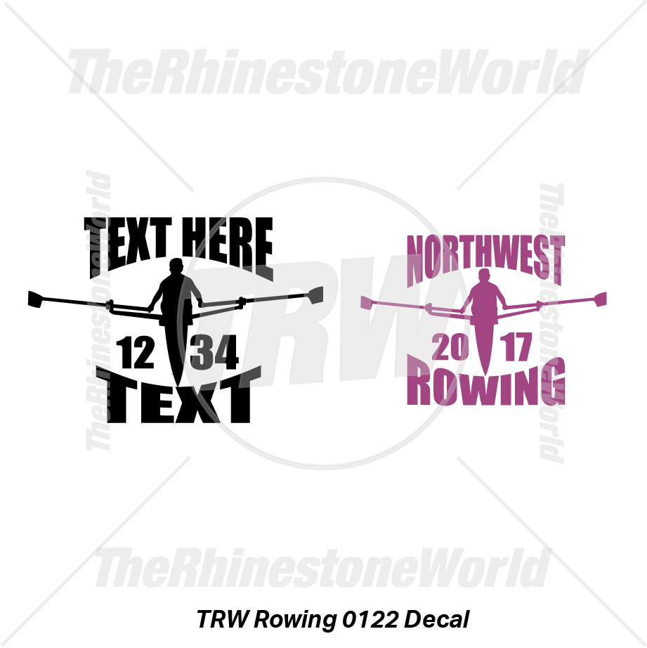 TRW Rowing 0122 Decal (Vol 1) - Download