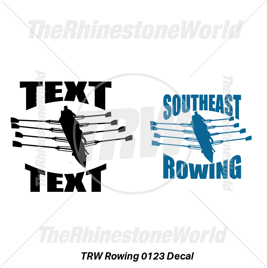 TRW Rowing 0123 Decal (Vol 1) - Download