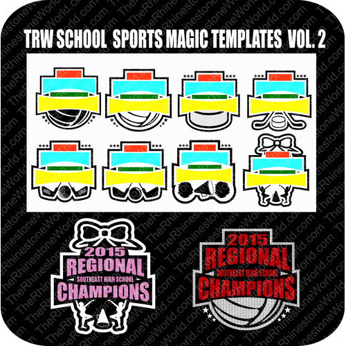 TRW SCHOOL SPORTS MAGIC TEMPLATES VOL. 2 - Download