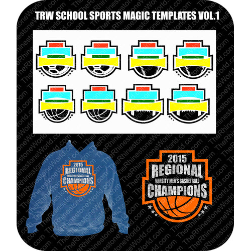 TRW School Sports Magic Templates Vol. 1  - Download