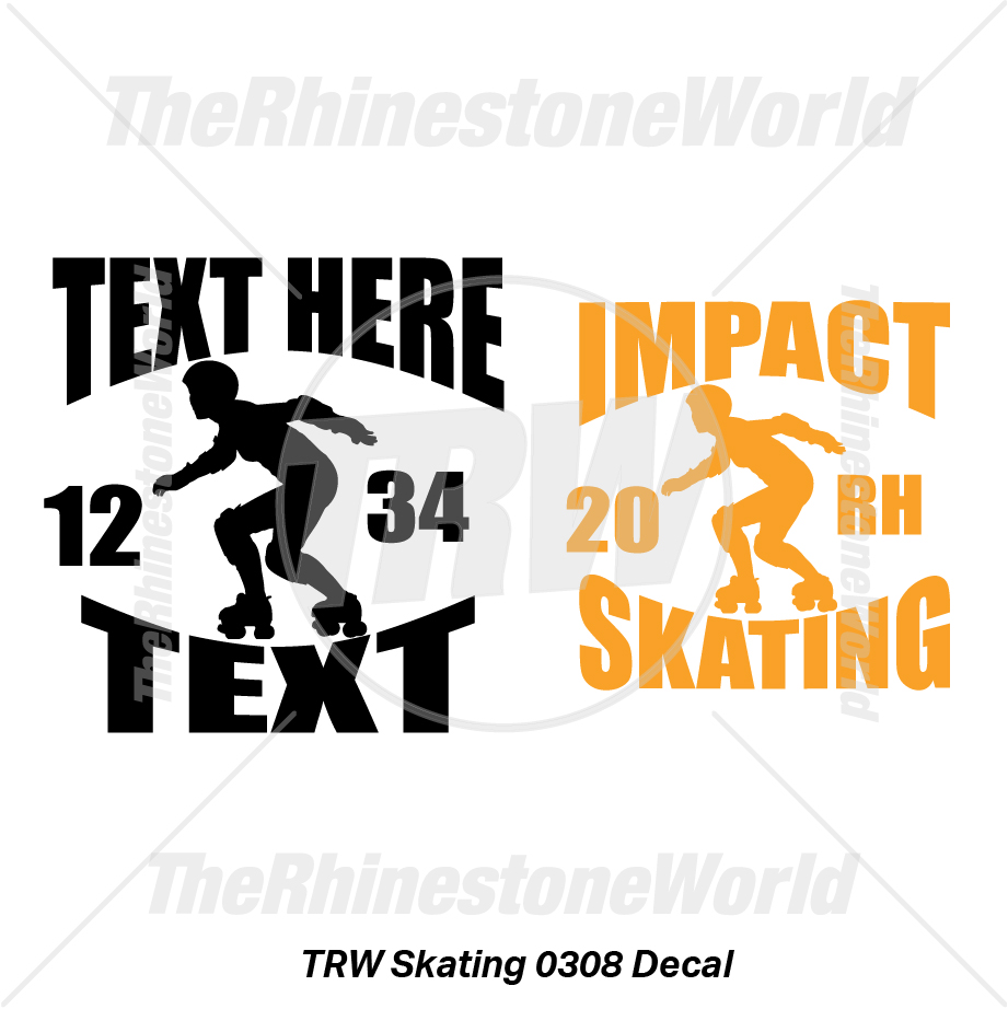 TRW Roller Skating 0308 Decal (Vol 1) - Download