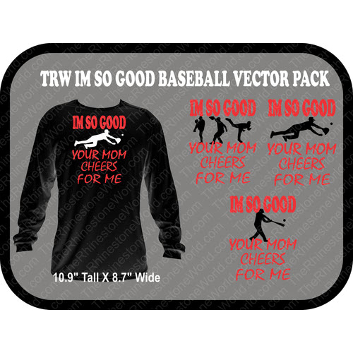 TRW So Good Baseball Pack Vector Design  - Download