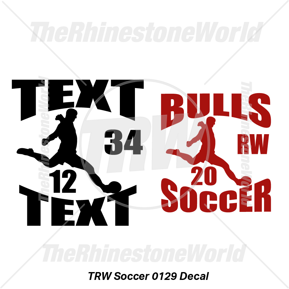 TRW Soccer 0129 Decal (Vol 1) - Download