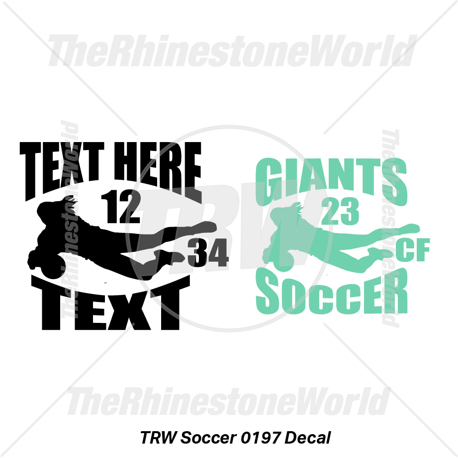 TRW Soccer 0197 Decal (Vol 1) - Download