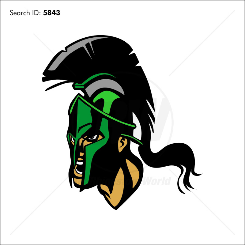 Spartan 1 Vector Mascot - Download