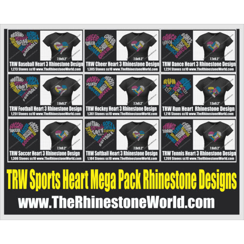 TRW Sport 9 Pack Heart Words Pack - Download