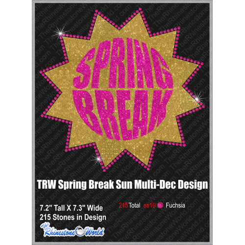 TRW Spring Break Sun Multi-Dec Design  - Download