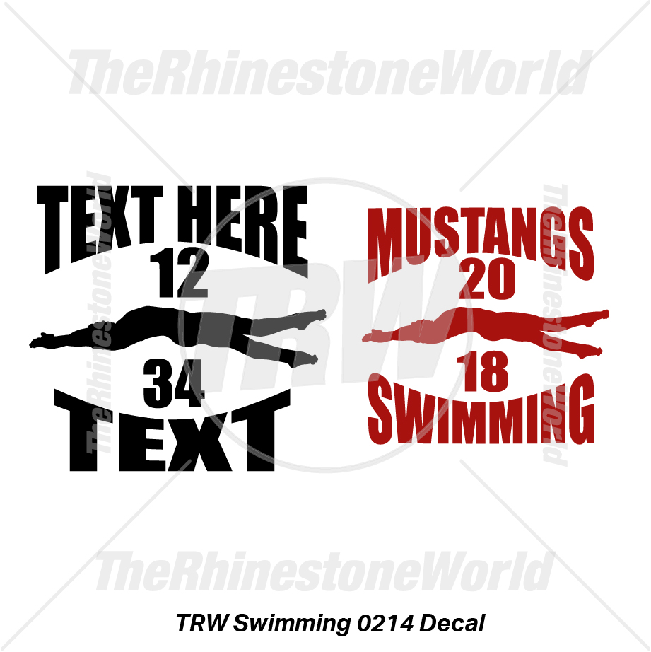 TRW Swimming 0214 Decal (Vol 1) - Download