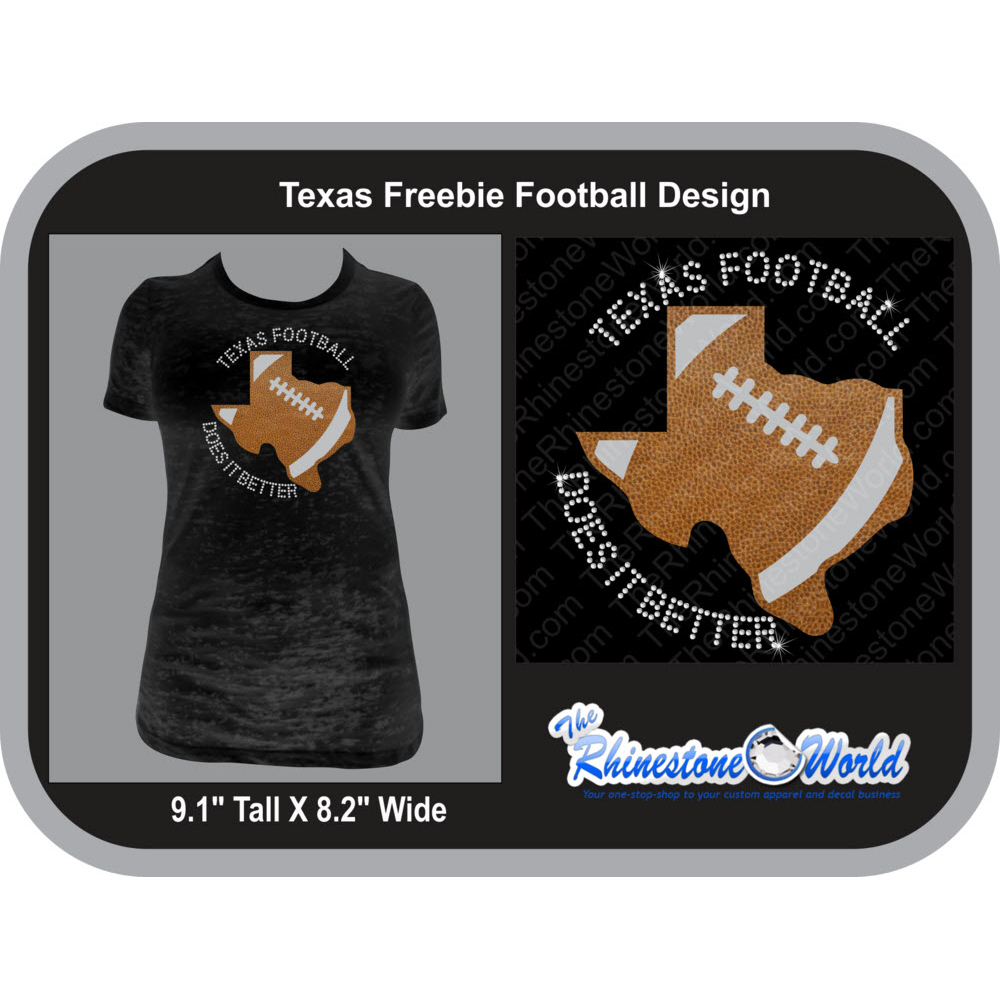 TRW Texas Football Does it Better Multi-Dec Design  - Download