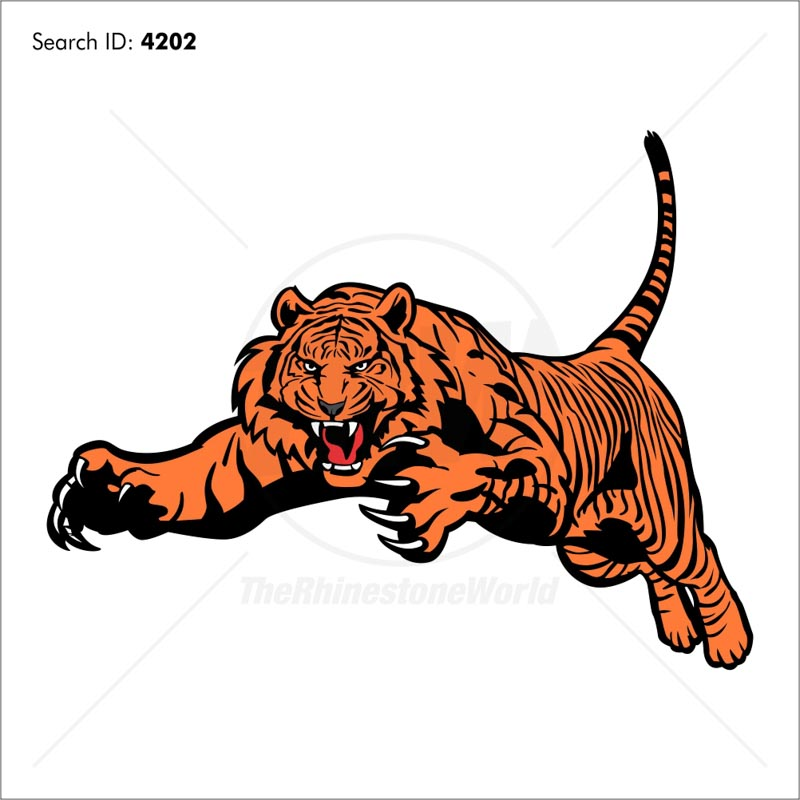 Tiger 2 Vector Mascot Download