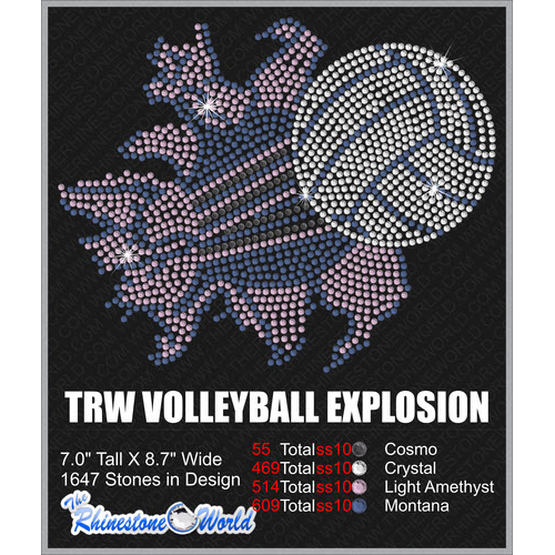 TRW VOLLEYBALL EXPLOSION W/ MOCKUP  - Download