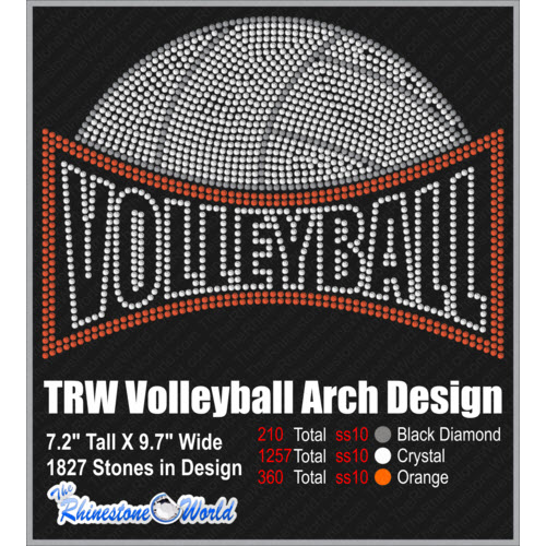 TRW Volleyball Arch Design  - Download