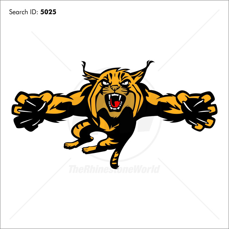 Wildcat 2 Vector Mascot - Download