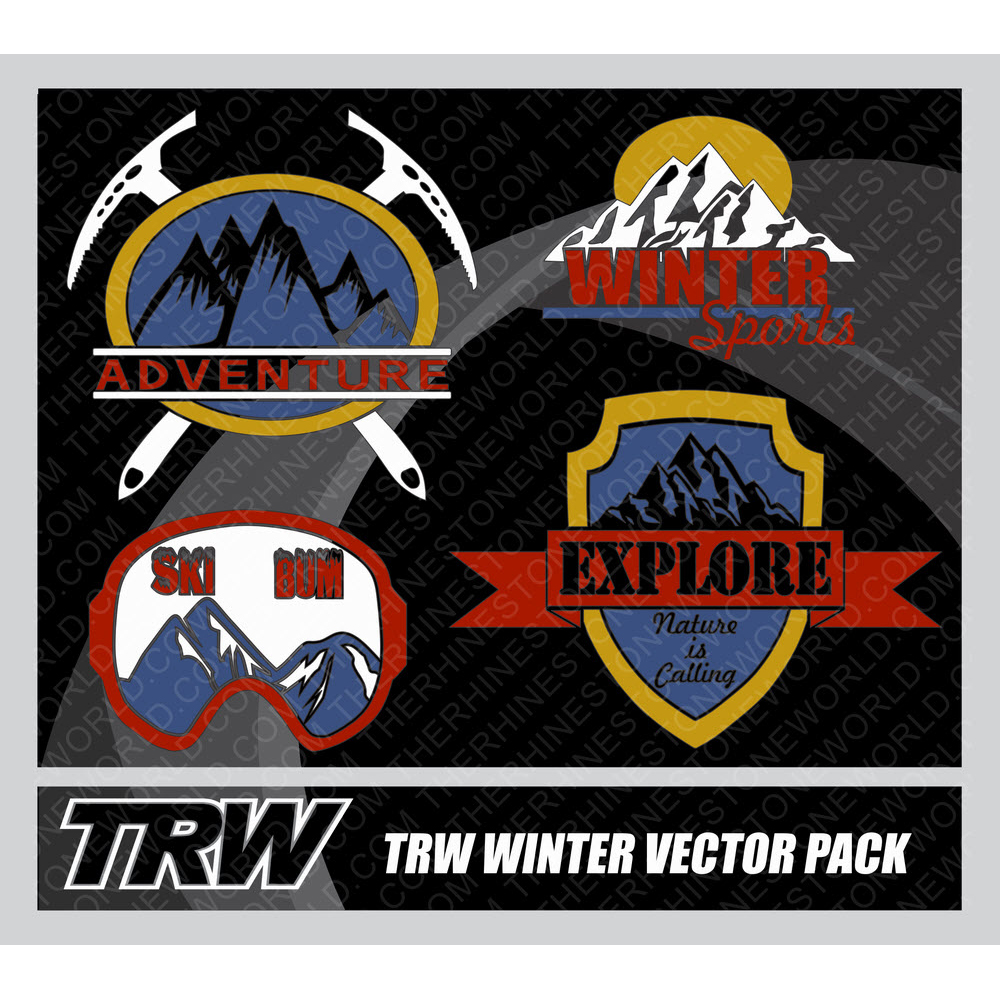 TRW Winter Sports Vector 4-Pack   - Download