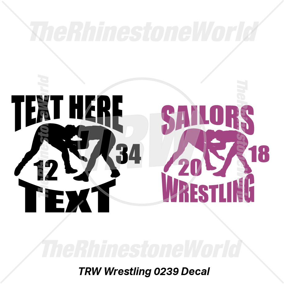 TRW Wrestling 0239 Decal (Vol 1) - Download