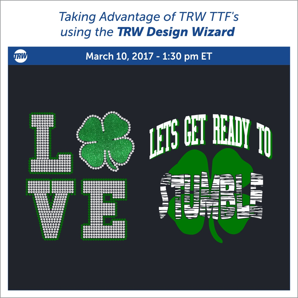 Taking Advantage of TRW TTF's Using the Design Wizard - March 10th, 2017