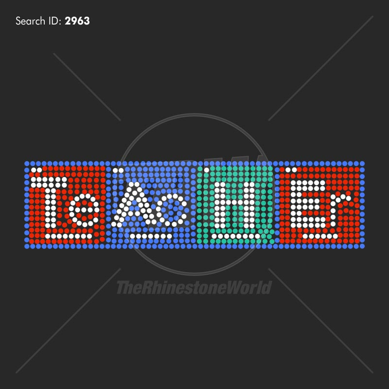 TEACHER 33 Rhinestone Design - Download