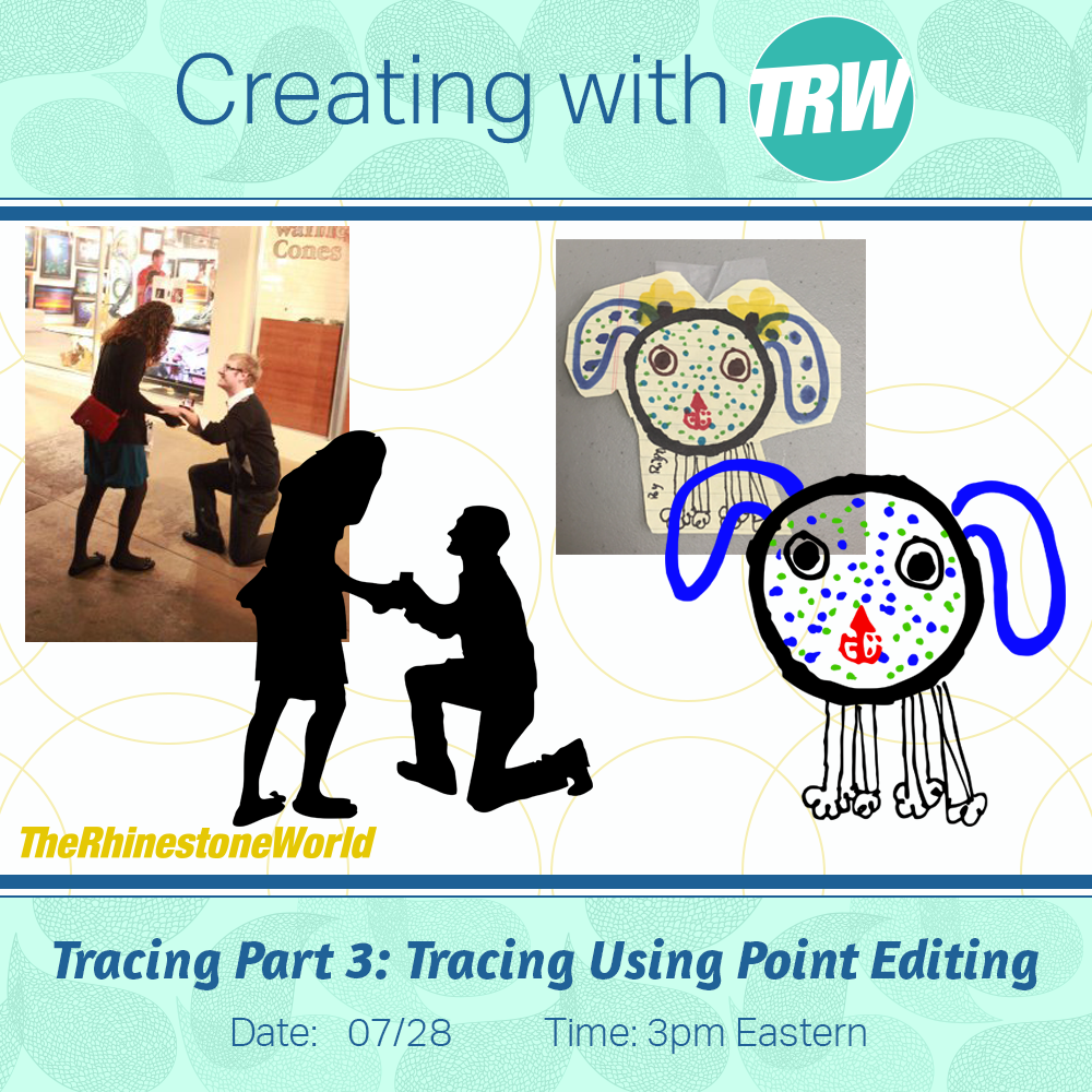 07/28/16 Tracing Part 3 - Tracing Using Point Editing