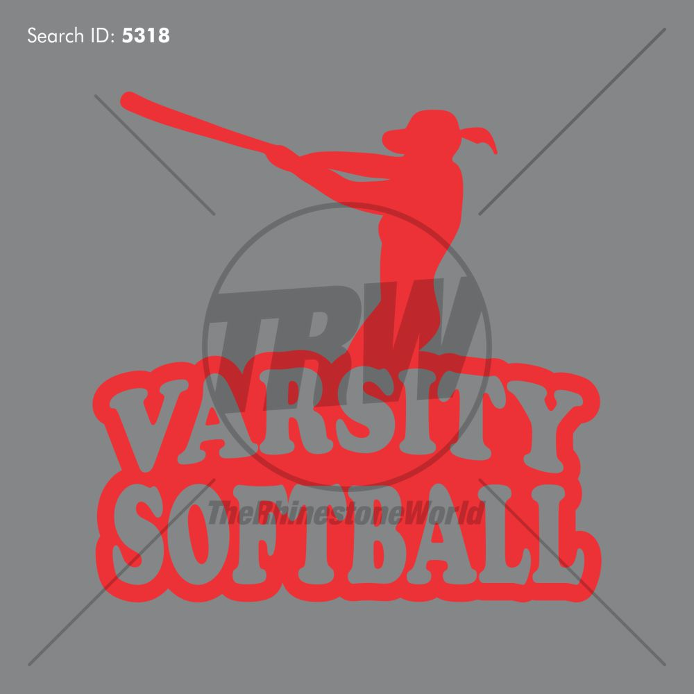 Varsity Softball LH 1 Color - Download