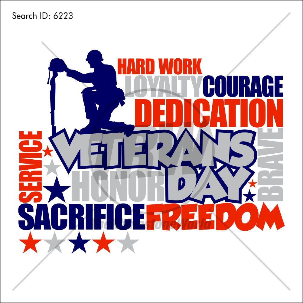 Veterans Day Vector Design - Download