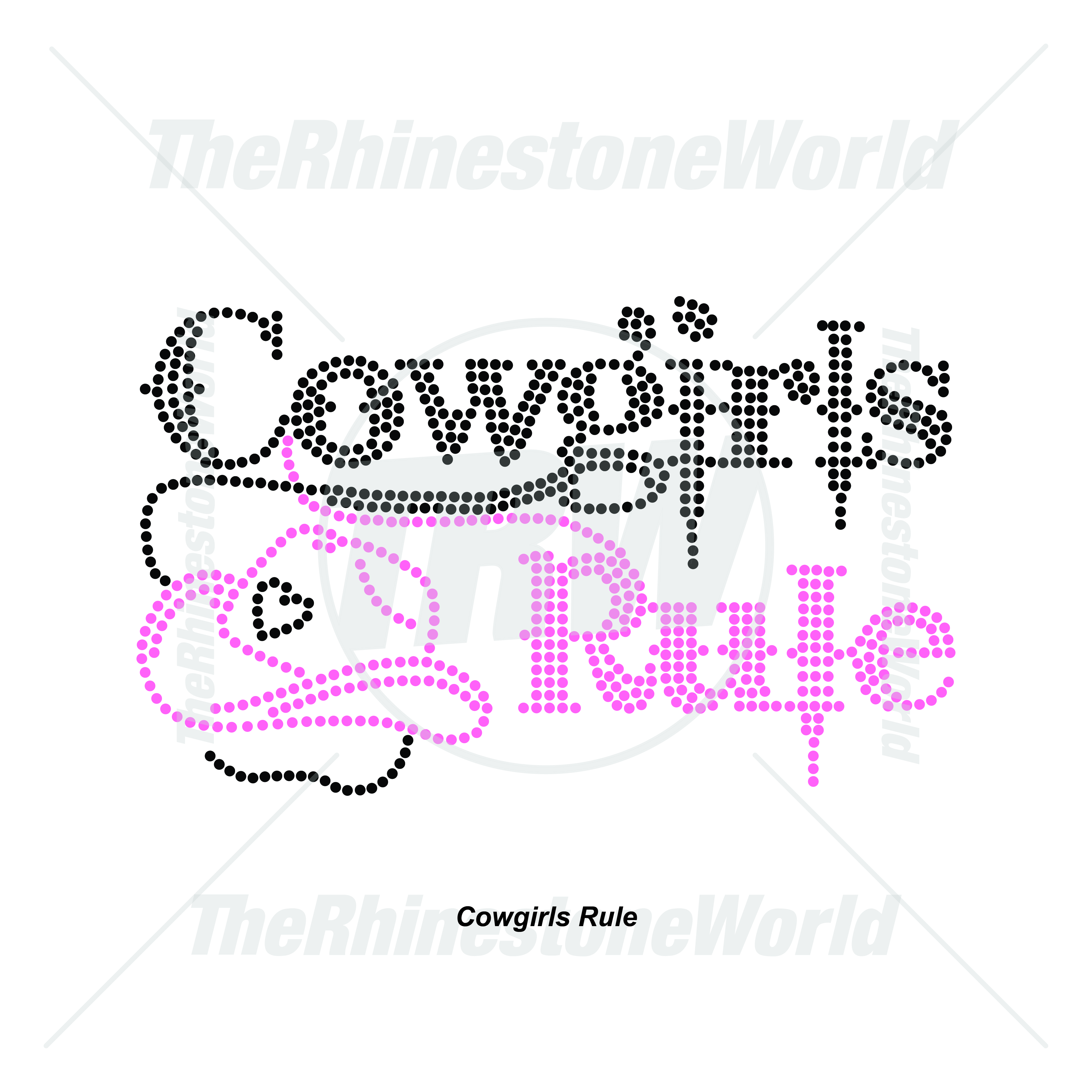 Western Cowgirls Rule - Download