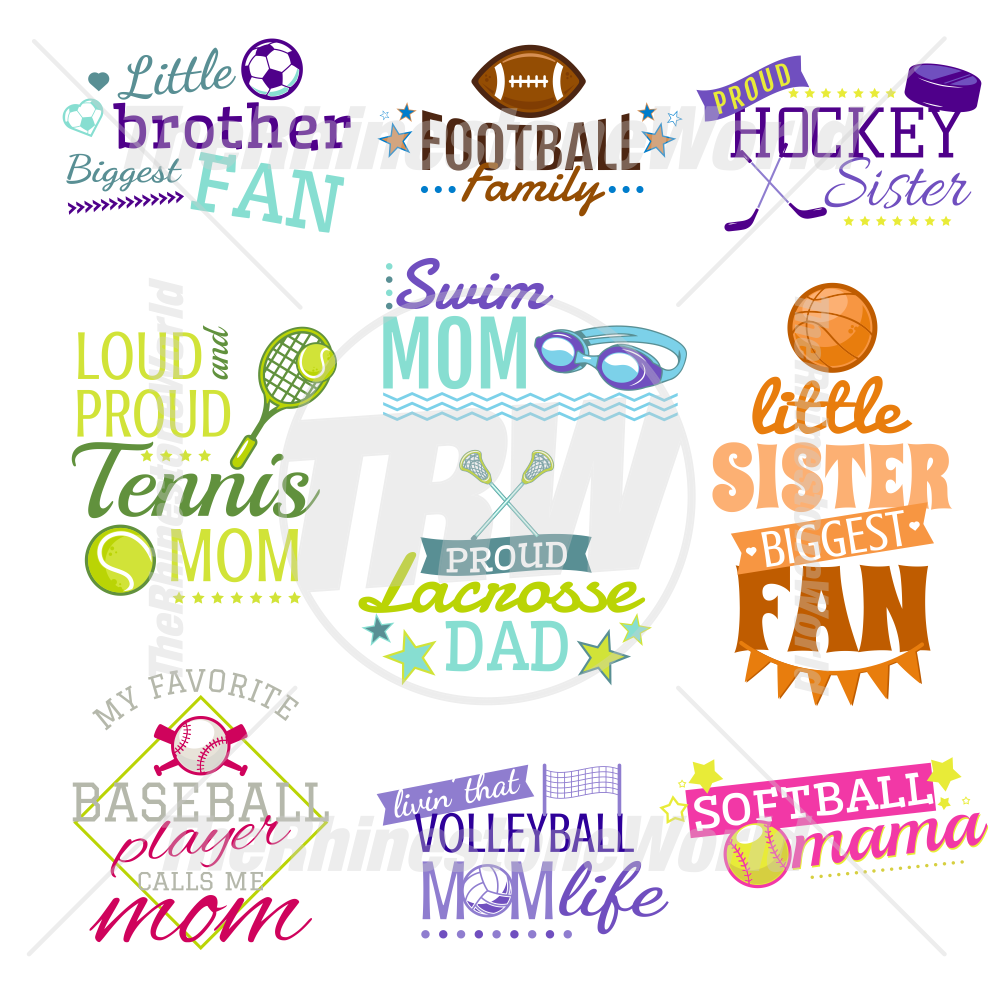 Cute Sports Live Template Mini Pack 5