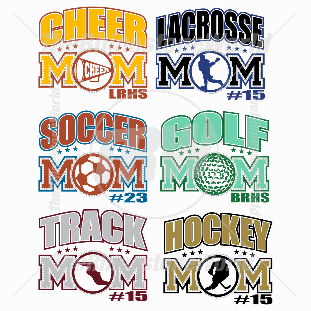 Sports Mom Multi-Dec Live Templates Mini Pack 2
