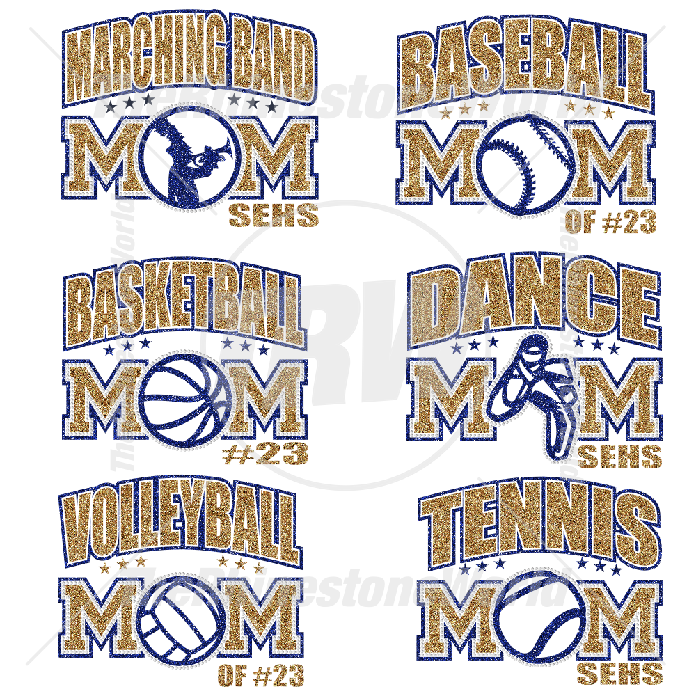 Sports Mom Multi-Dec Live Templates Mini Pack 1