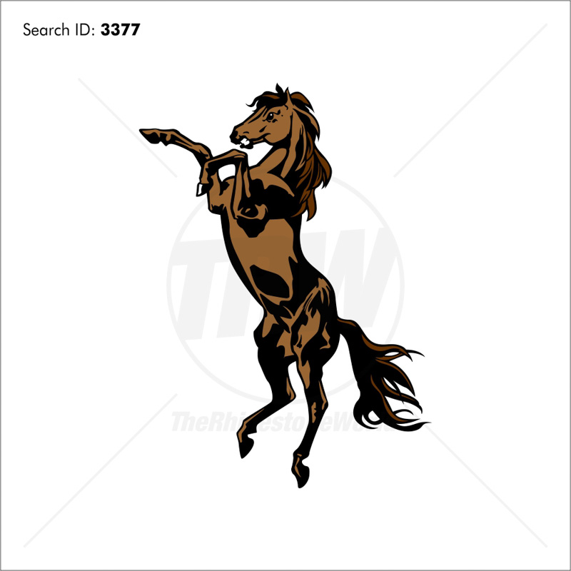 Mustangs 1 Vector Mascot - Download