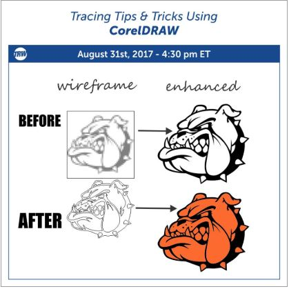 Tracing Tips and Tricks Using CorelDRAW - August 31st, 2017