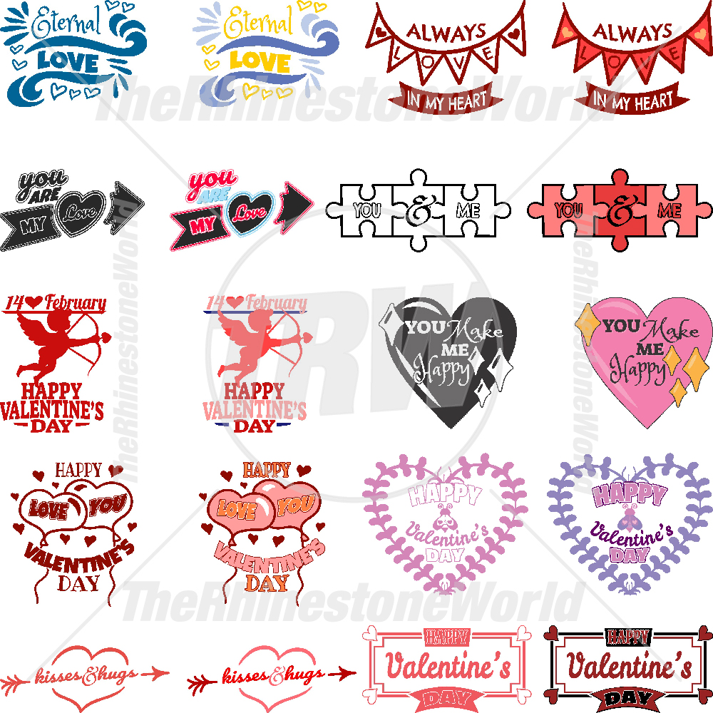 Valentines Live Template Mini Pack 3