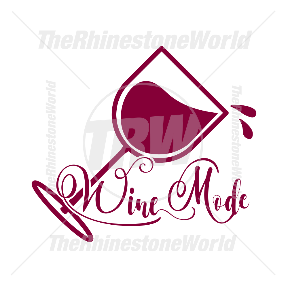 Wine Mode Vector Design
