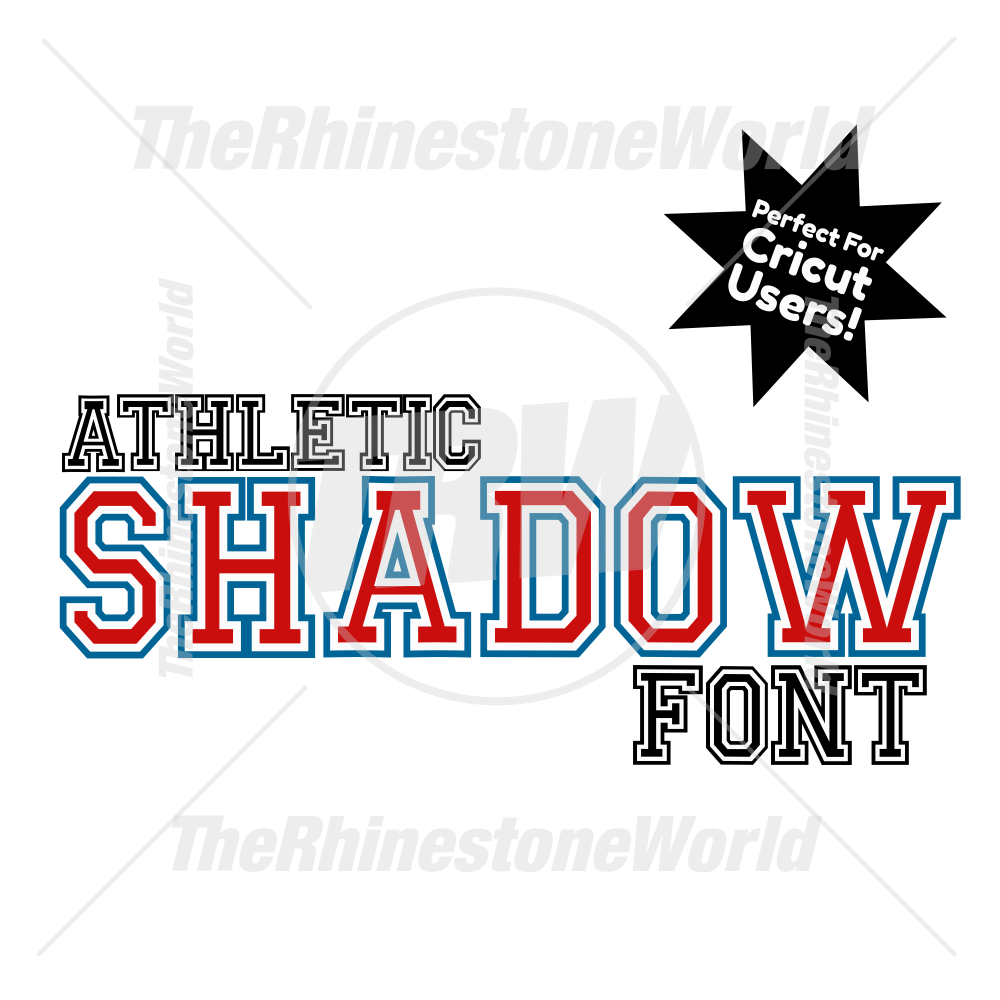 TRW Athletic Shadow Font