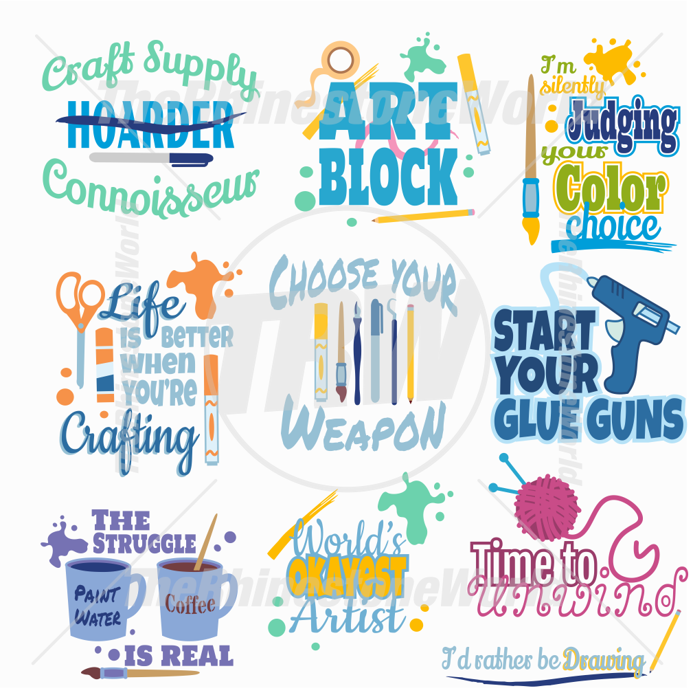 Crafting Live Template Mini Pack 1