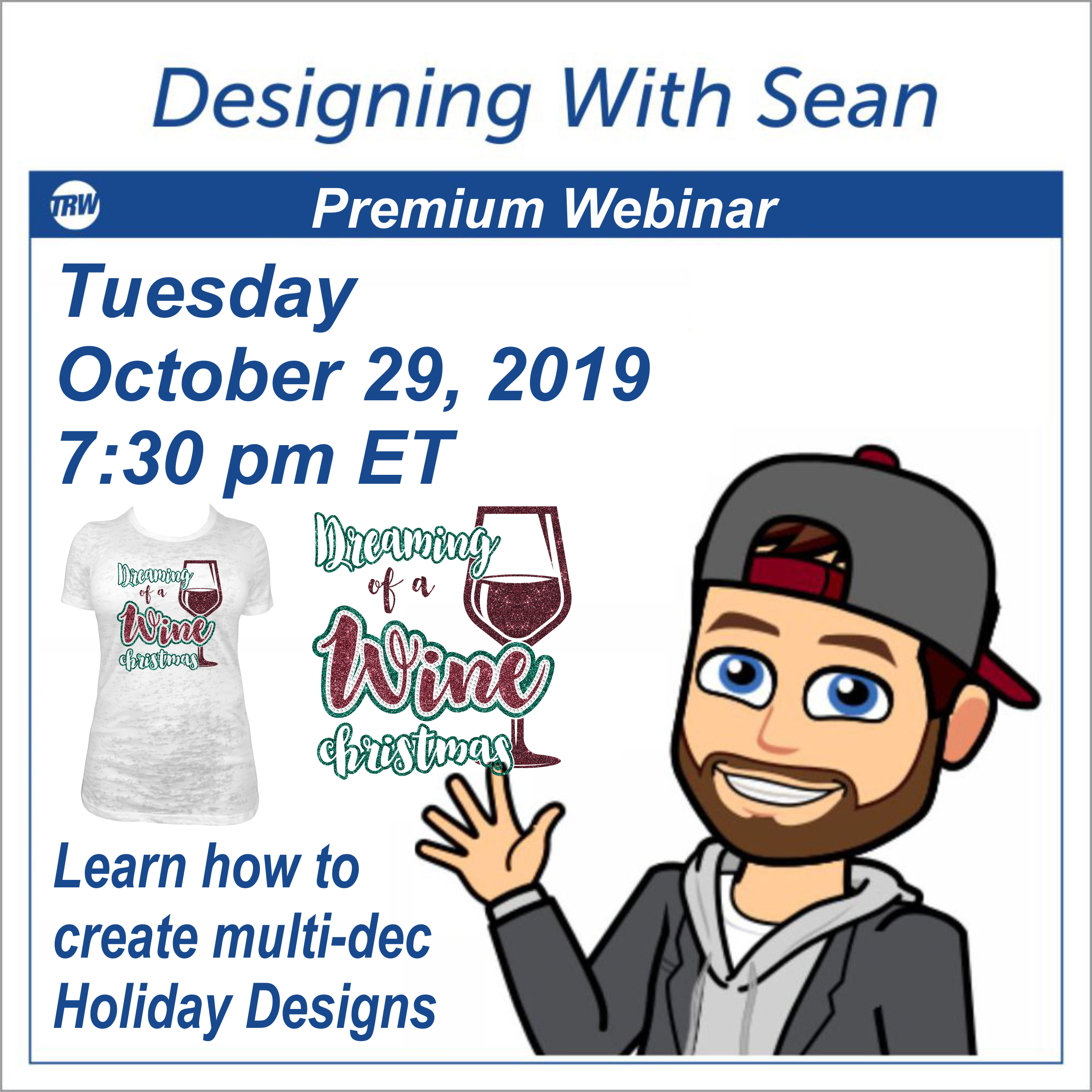 Designing With Sean - October 29th, 2019