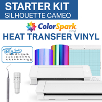 Silhouette Cameo 4 ColorSpark HTV Starter Kit